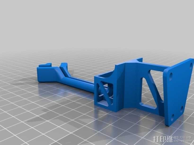 Frsky X8R接收机支架 3D模型  图5