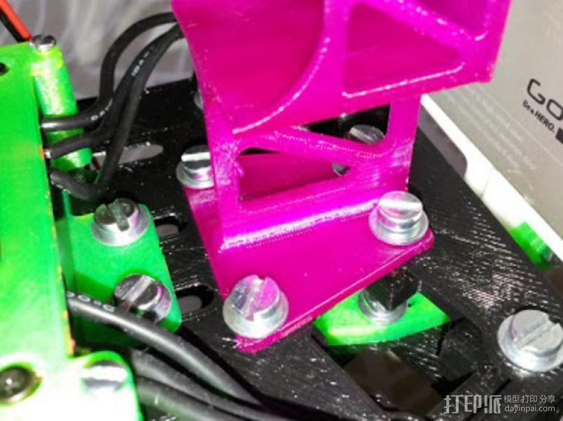 Frsky X8R接收机支架 3D模型  图9