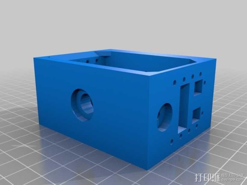 六轮驱动机器人 3D模型  图4