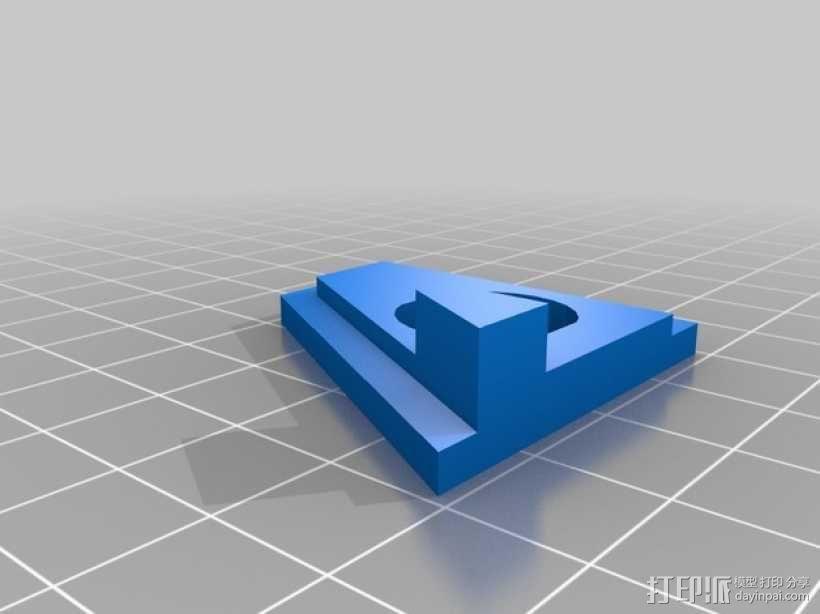 六轮驱动机器人 3D模型  图7