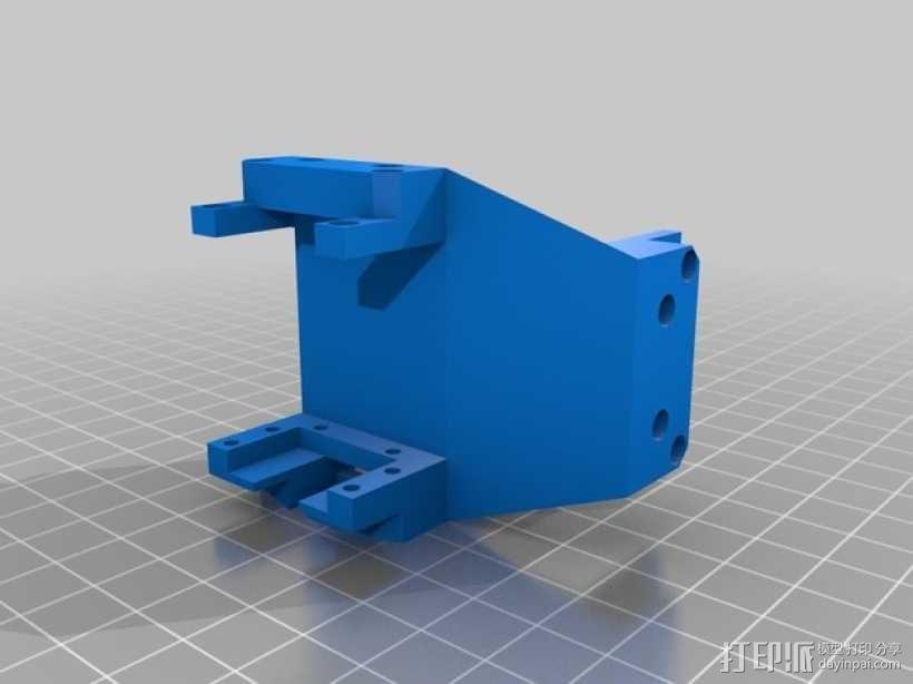 六轮驱动机器人 3D模型  图10