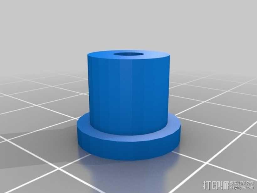 六轮驱动机器人 3D模型  图9