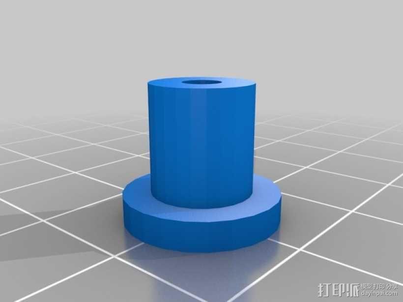六轮驱动机器人 3D模型  图8