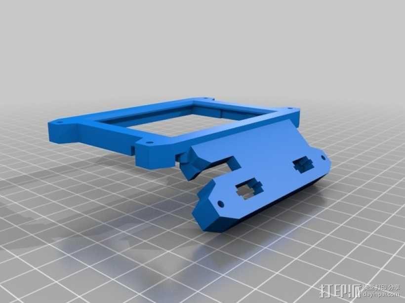 数字朋克触控板带 3D模型  图3