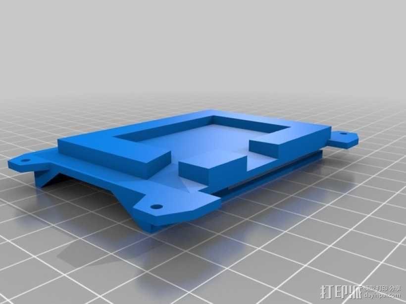 数字朋克触控板带 3D模型  图4