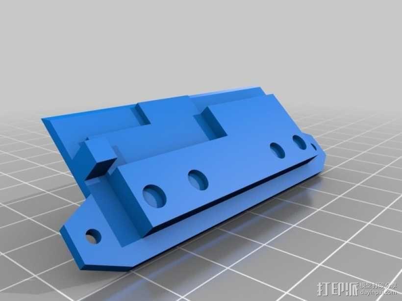 数字朋克触控板带 3D模型  图5