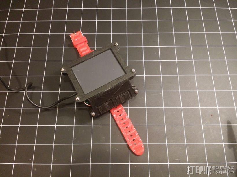 数字朋克触控板带 3D模型  图6