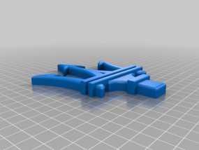 玛莎拉蒂汽车标志 3D模型