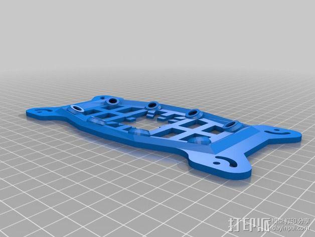 MHQ四轴飞行器框架 3D模型  图6