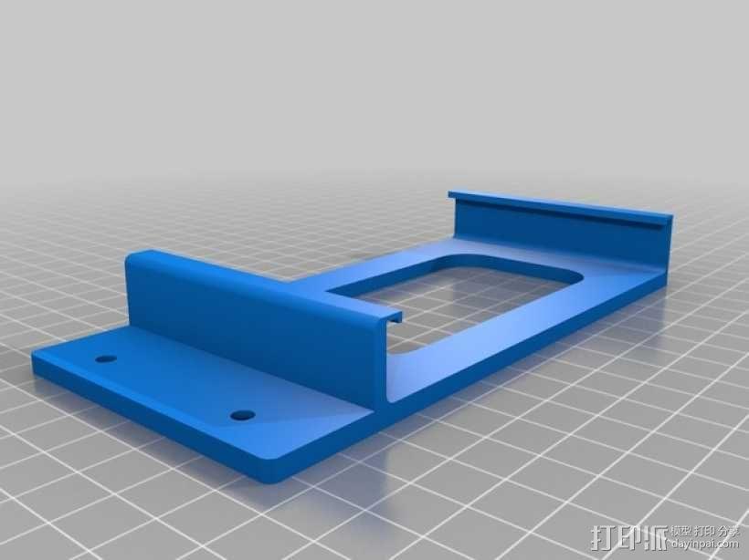 Nexus 7平板电脑支架 3D模型  图2