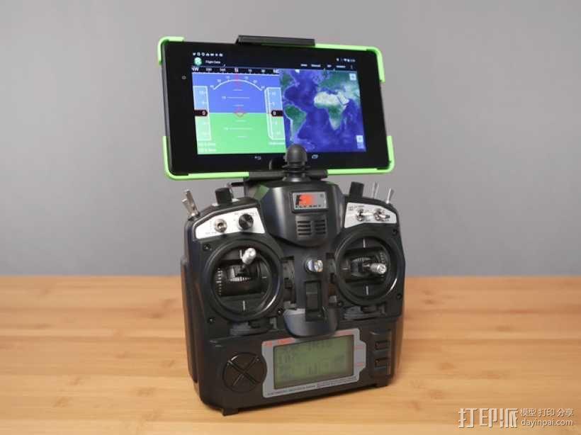 Nexus 7平板电脑支架 3D模型  图1