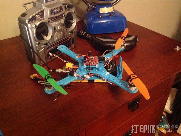 Naze32四轴飞行器框架 3D模型  图6
