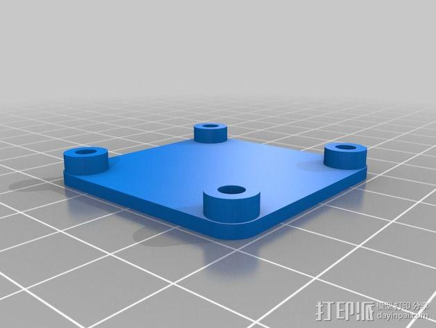 Naze32四轴飞行器框架 3D模型  图12
