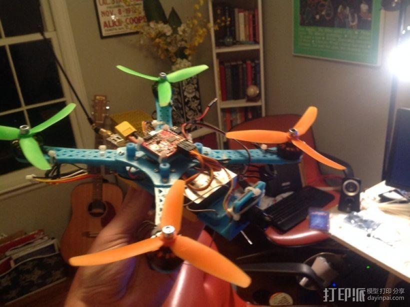 Naze32四轴飞行器框架 3D模型  图20