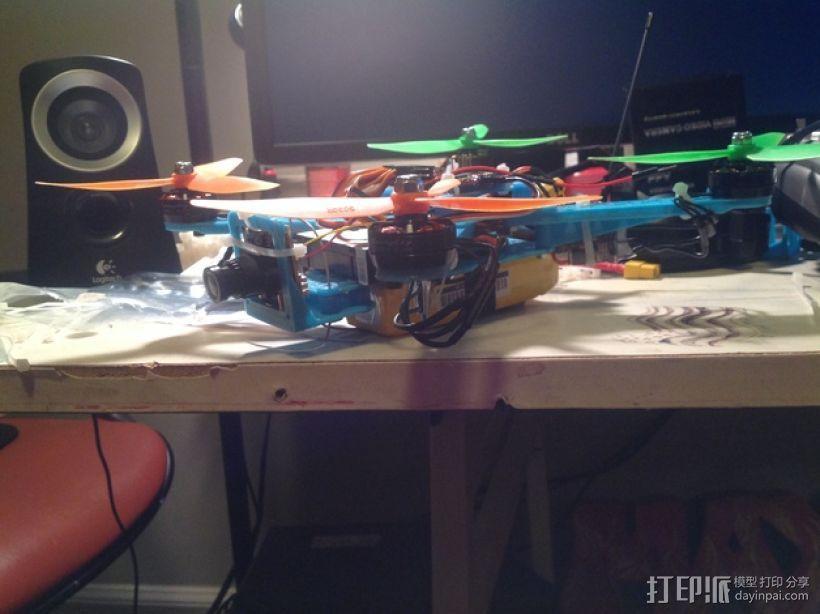 Naze32四轴飞行器框架 3D模型  图22
