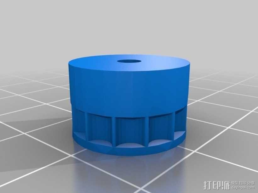 链齿轮 3D模型  图2