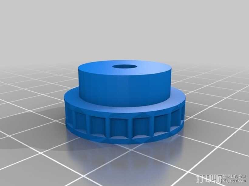 链齿轮 3D模型  图4