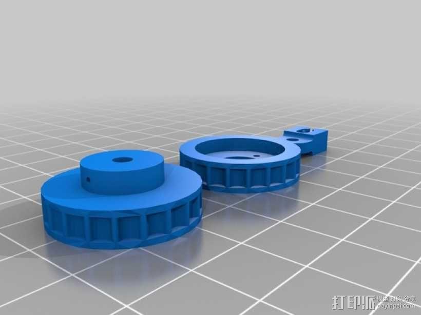 链齿轮 3D模型  图6