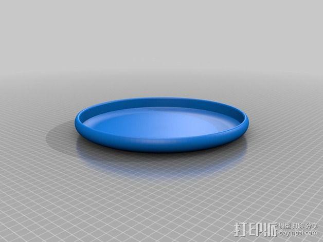 飞盘 3D模型  图2