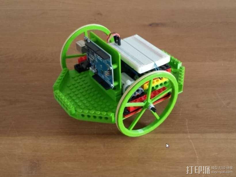 模块化机器人平台 3D模型  图1