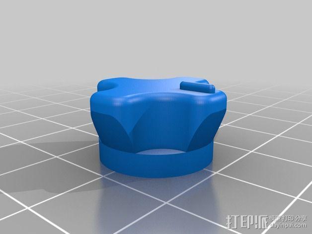 DIY自行车音响设备支架 3D模型  图8