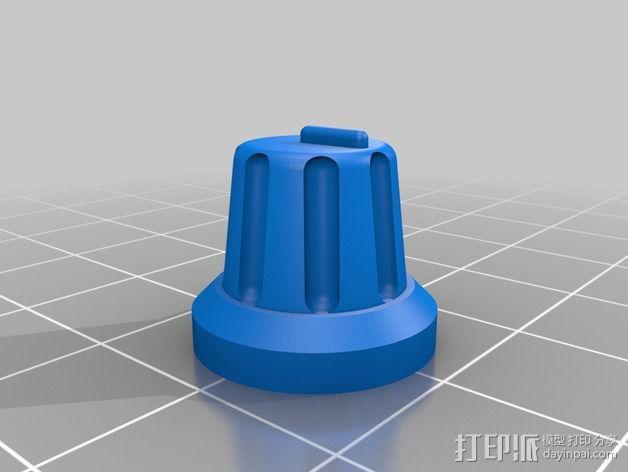 DIY自行车音响设备支架 3D模型  图10