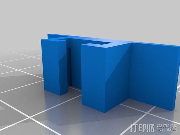 DIY自行车音响设备支架 3D模型  图9