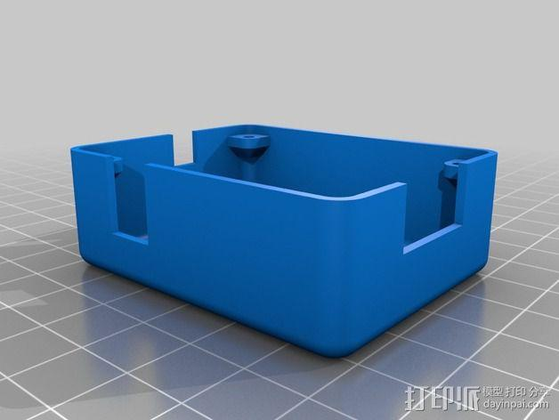 DIY自行车音响设备支架 3D模型  图12