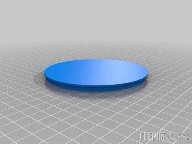 DIY自行车音响设备支架 3D模型  图11