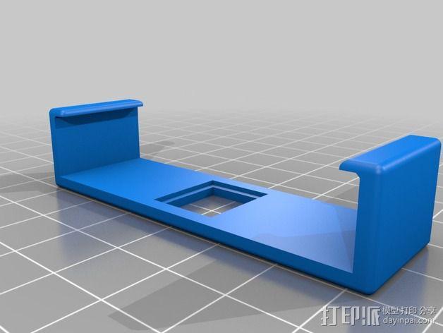 DIY自行车音响设备支架 3D模型  图19