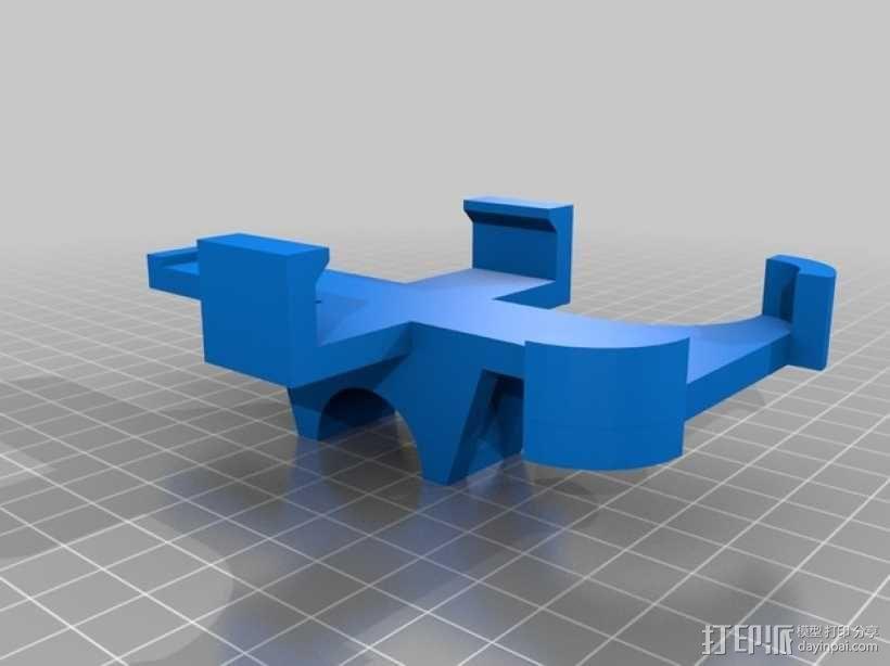 自行车iPhone4手机架 3D模型  图3