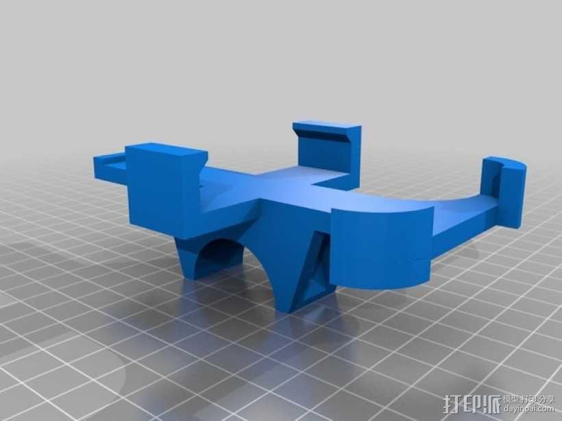 自行车iPhone4手机架 3D模型  图2
