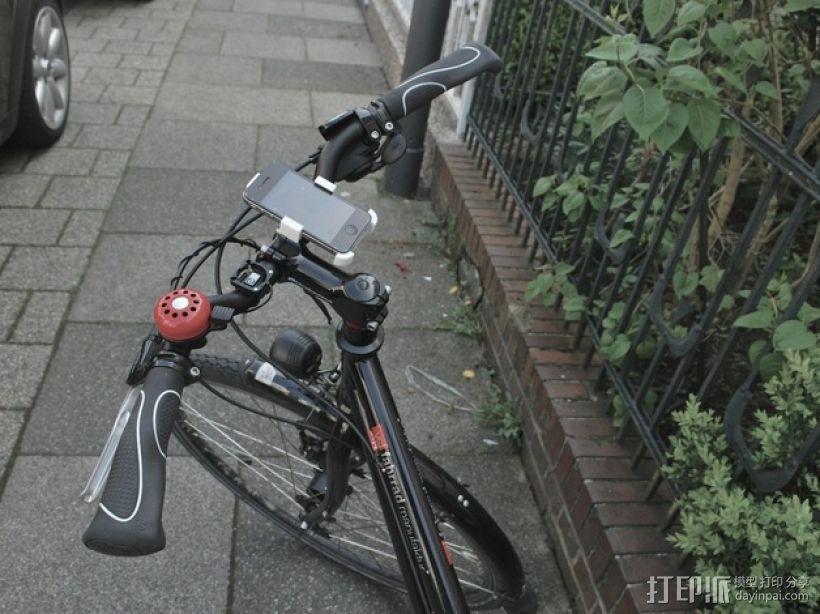 自行车iPhone4手机架 3D模型  图5