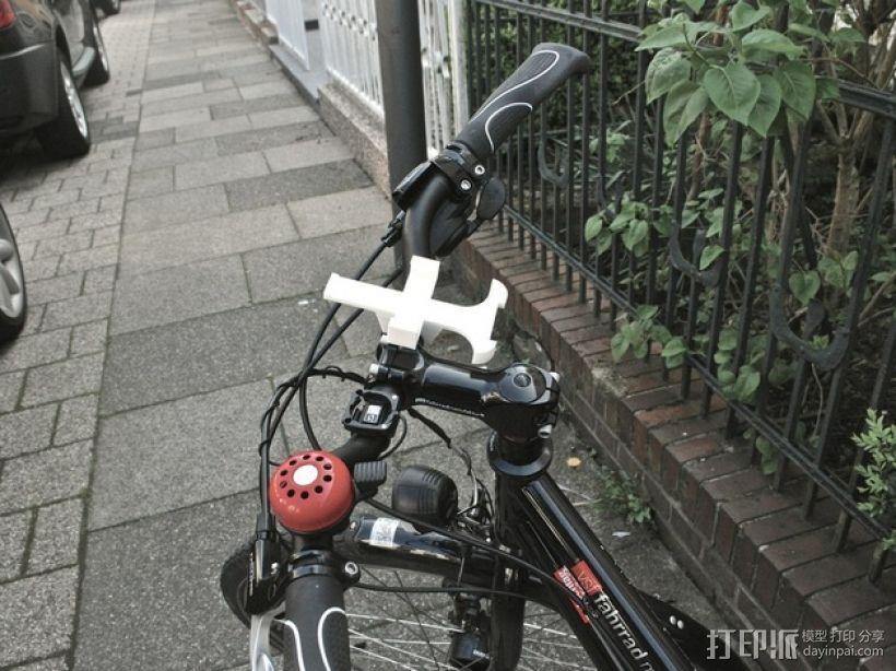自行车iPhone4手机架 3D模型  图6