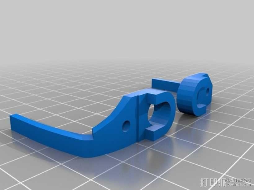 迷你六足机器人 3D模型  图3