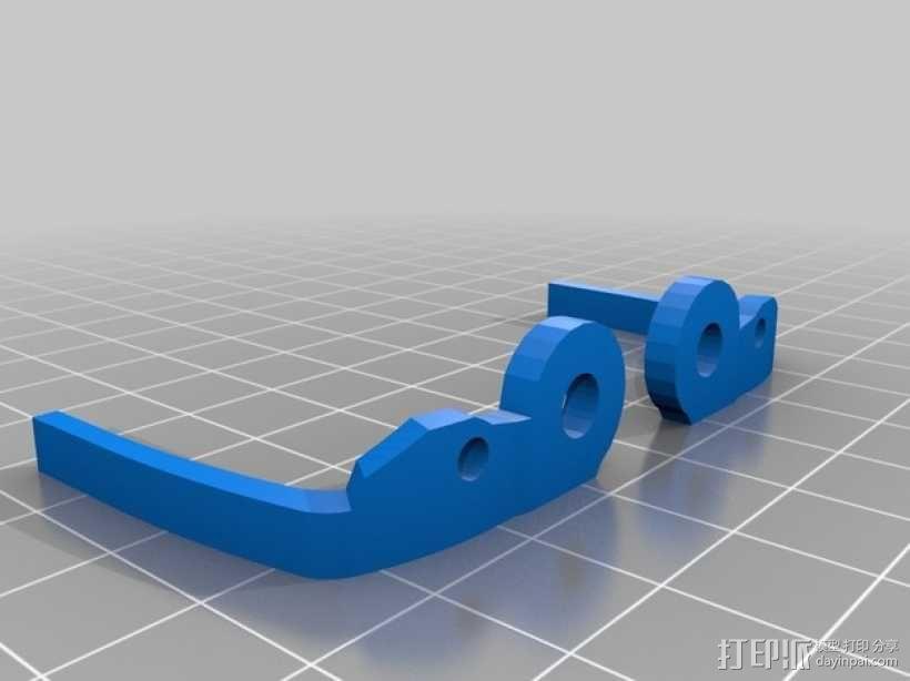 迷你六足机器人 3D模型  图2