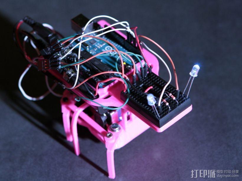 迷你六足机器人 3D模型  图7