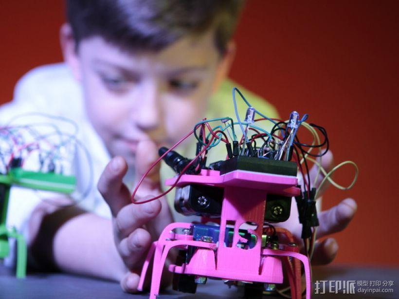 迷你六足机器人 3D模型  图9