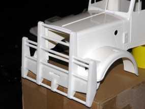 卡车保险杠 3D模型