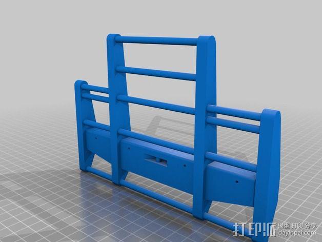卡车保险杠 3D模型  图4