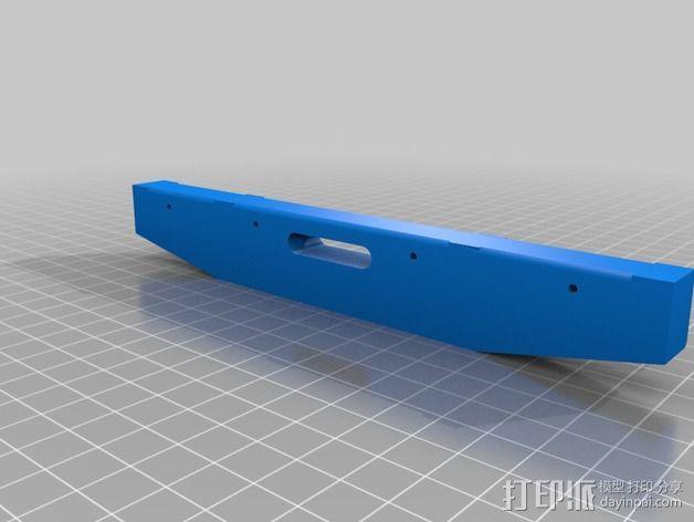 卡车保险杠 3D模型  图7