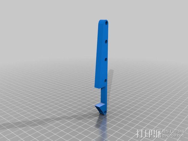卡车保险杠 3D模型  图8