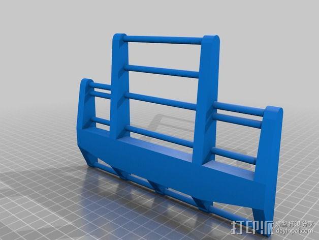 卡车保险杠 3D模型  图6