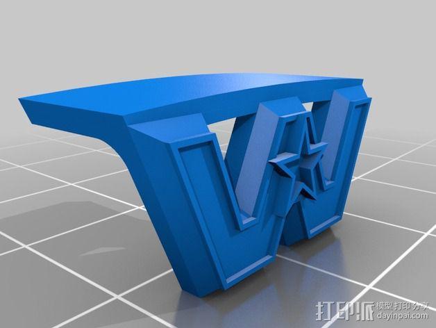 卡车保险杠 3D模型  图11
