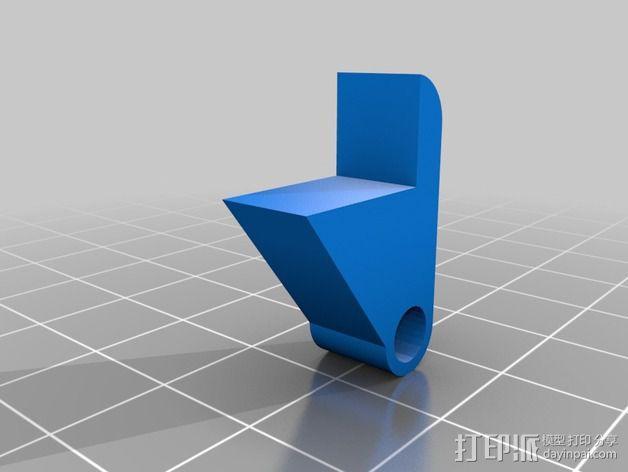 卡车保险杠 3D模型  图14