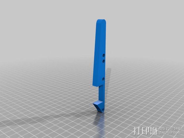 卡车保险杠 3D模型  图16