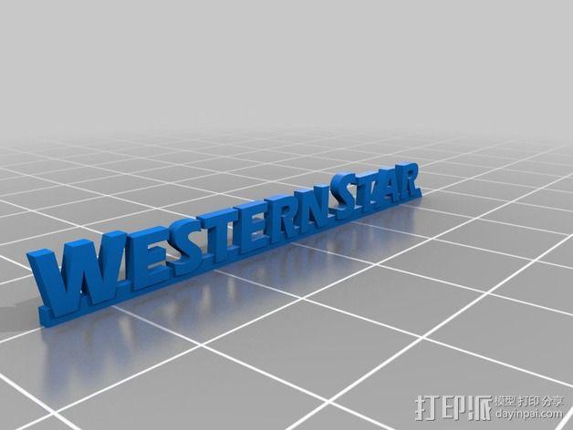 卡车保险杠 3D模型  图17