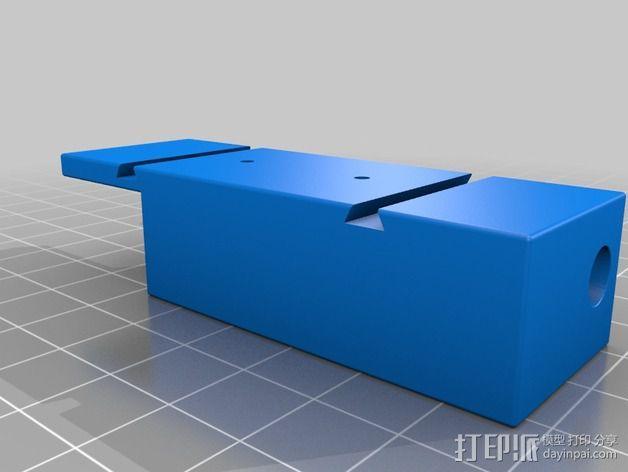 ImmersionRC发射机支架 3D模型  图4