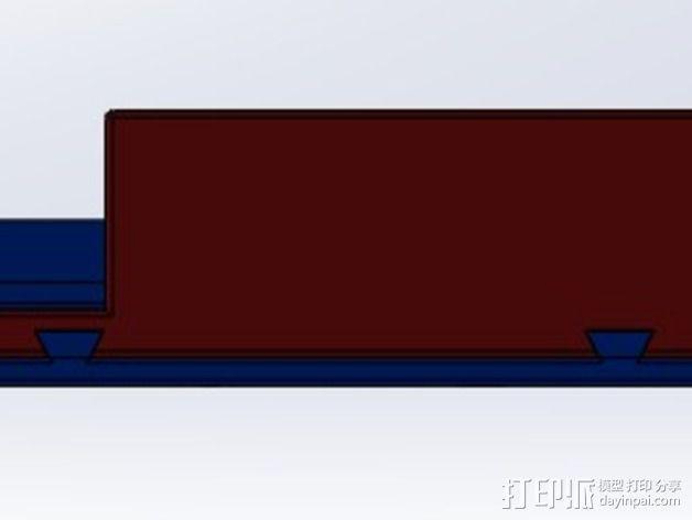 ImmersionRC发射机支架 3D模型  图12