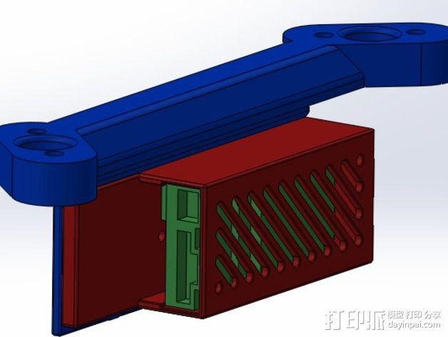 ImmersionRC发射机支架 3D模型  图14